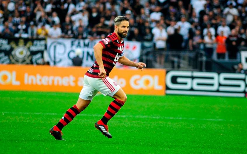 Corinthians x Flamengo - Diego