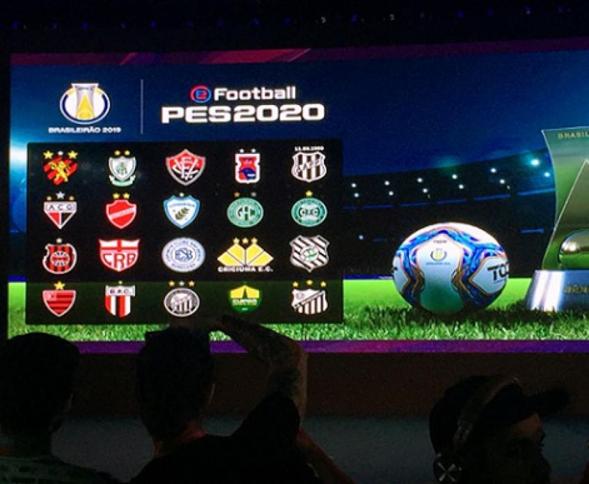 Clubes da Série B estão licenciados no PES 2020