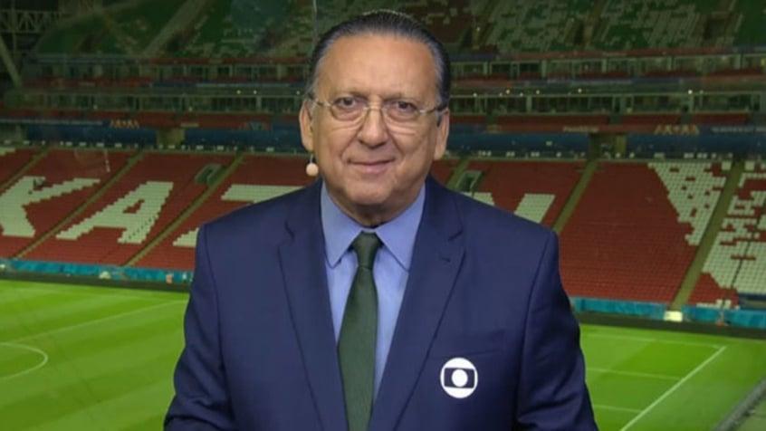 Galvão Bueno está consciente após sofrer infarto e ficará em ...