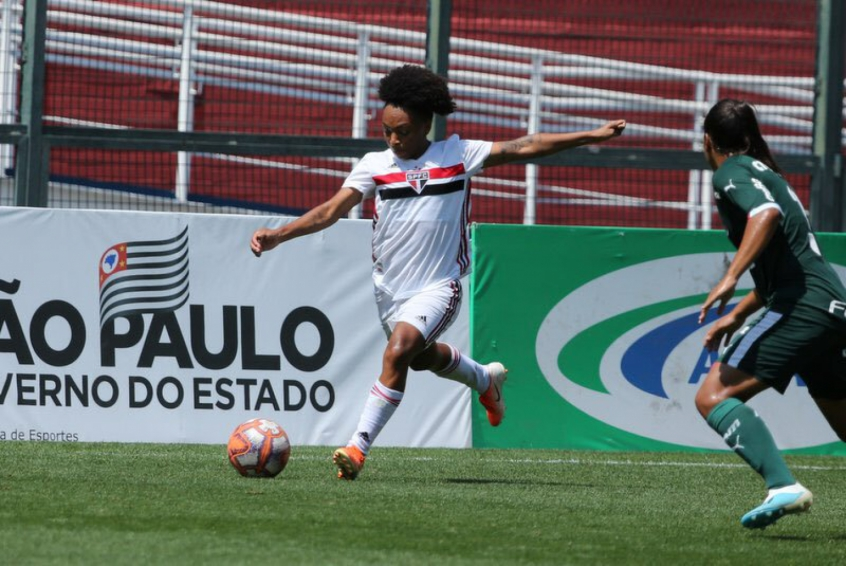 São Paulo x Palmeiras - Feminino