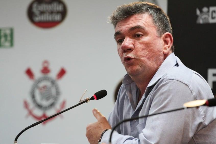 Presidente do Corinthians diz que Flamengo não é melhor time do Brasil: Se fosse, não tomava de quatro