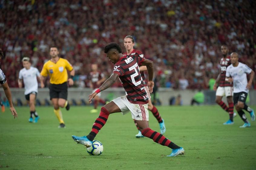Flamengo x Santos - Bruno Henrique