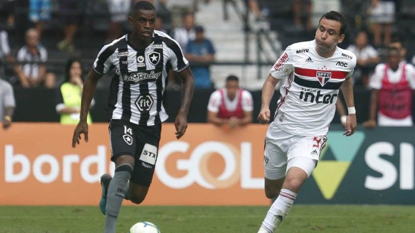 São Paulo x Botafogo: prováveis escalações, desfalques e onde assistir |  LANCE!
