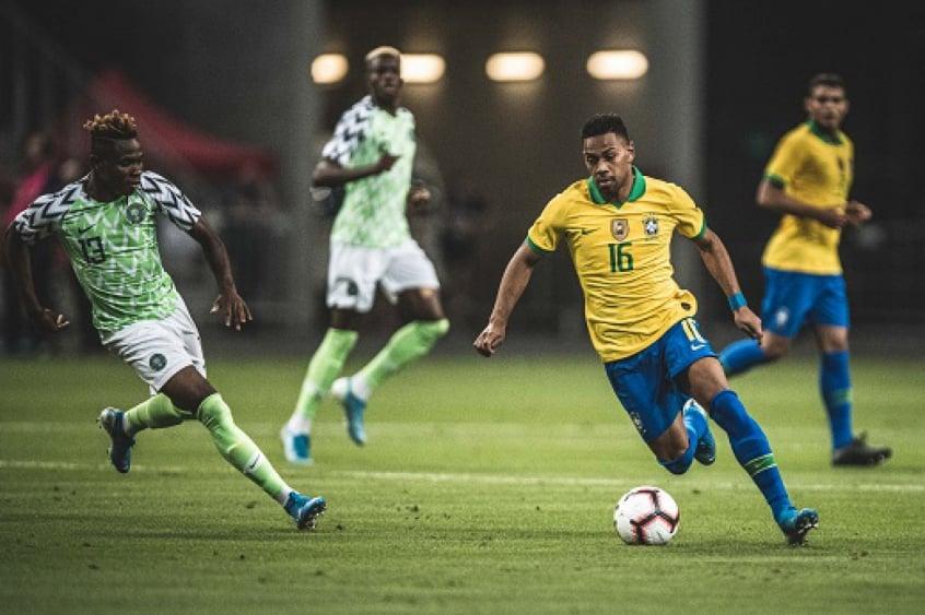 Brasil x Nigéria - Renan Lodi