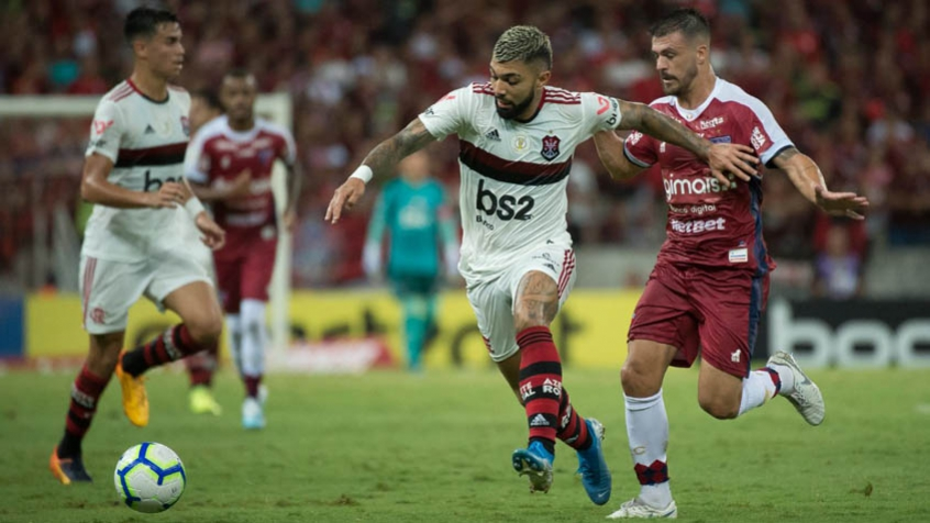 Fortaleza x Flamengo - Gabigol