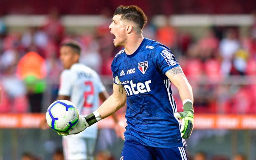 Entenda por que o São Paulo fez tudo pela permanência de Tiago Volpi   LANCE!