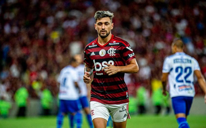 Flamengo x CSA - Arrascaeta