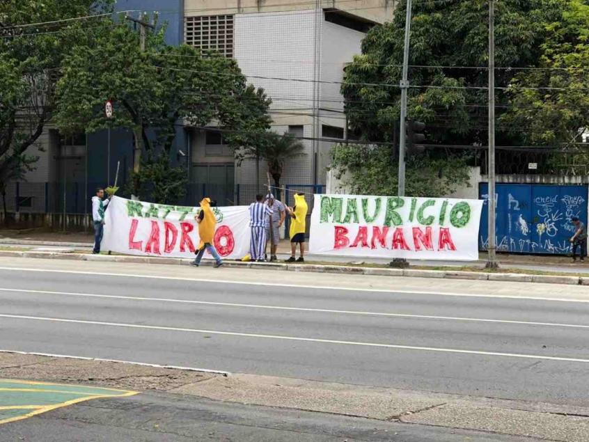 Protesto Palmeiras