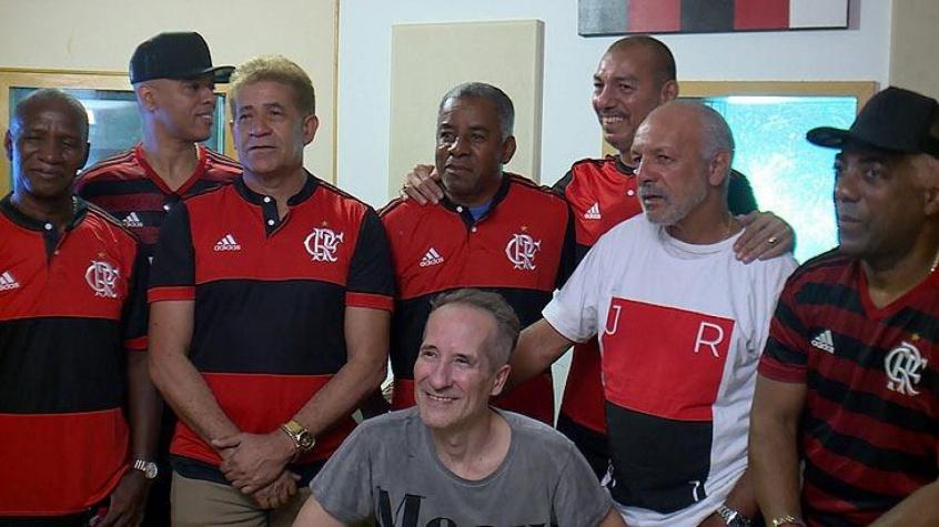 Flamengo joga por música também na arquibancada