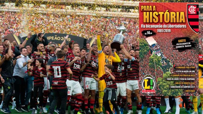 Flamengo - Libertadores - Capa