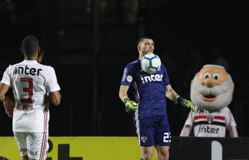 São Paulo x Internacional - Tiago Volpi