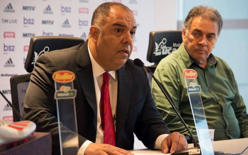 Vice-presidente do Flamengo diz que Pelaipe está em estado grave e envia mensagem de apoio