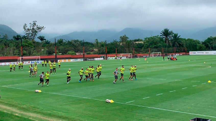 Flamengo se reapresenta a dois dias de ir para Doha