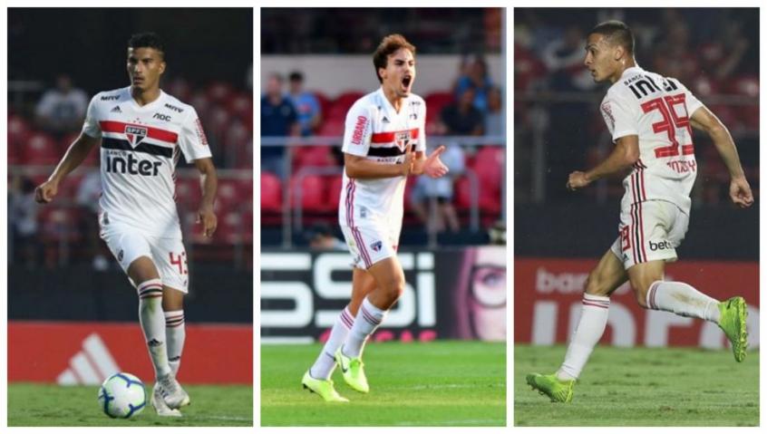Walce, Igor Gomes e Antony