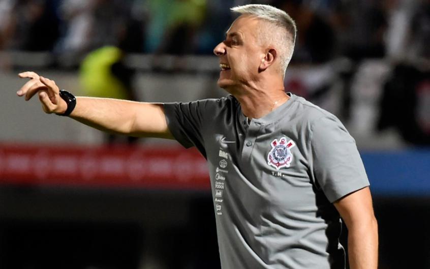 Tiago Nunes avalia que faltou agressividade para o Corinthians na derrota para o Guaraní | LANCE!