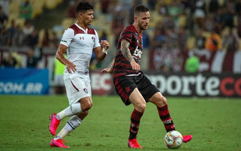 Fluminense x Flamengo - Léo Pereira