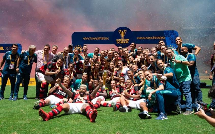 Bom retrospecto recente em finais pode ser aliado do Flamengo para conquistar a Supercopa