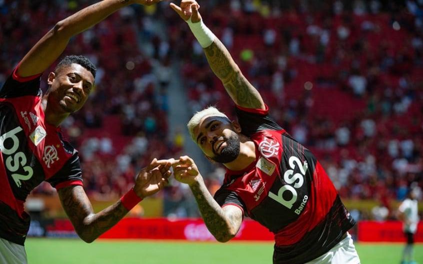 Assim como Gabigol, Bruno Henrique foi levado para delegacia em 2020