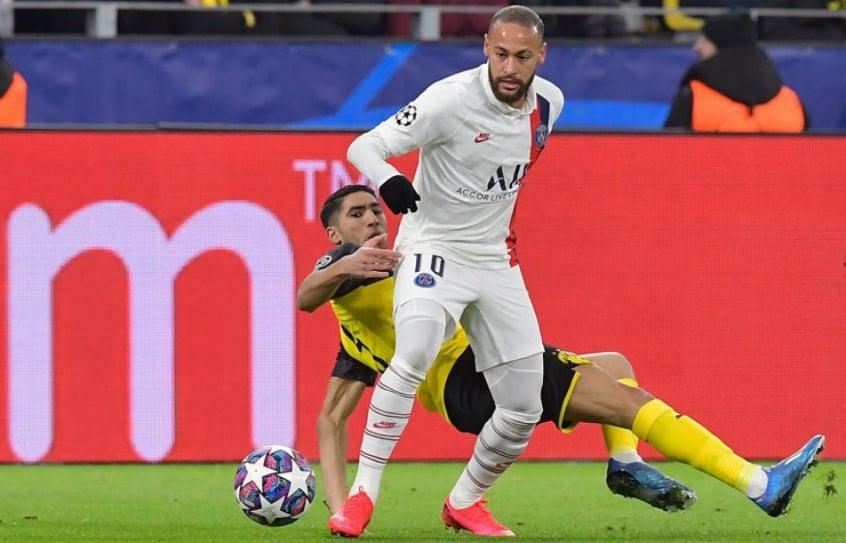 Borussia Dortmund x PSG - Neymar