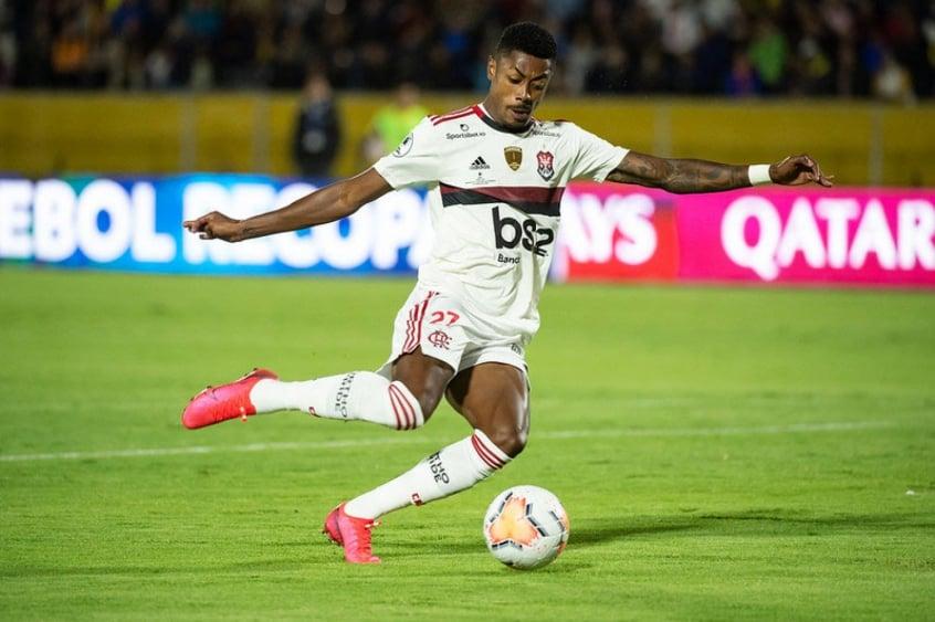 Desfalque, Bruno Henrique comemora título do Flamengo