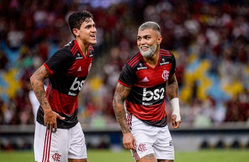 Gabigol e Pedro podem jogar juntos no Flamengo? Veja os números da dupla