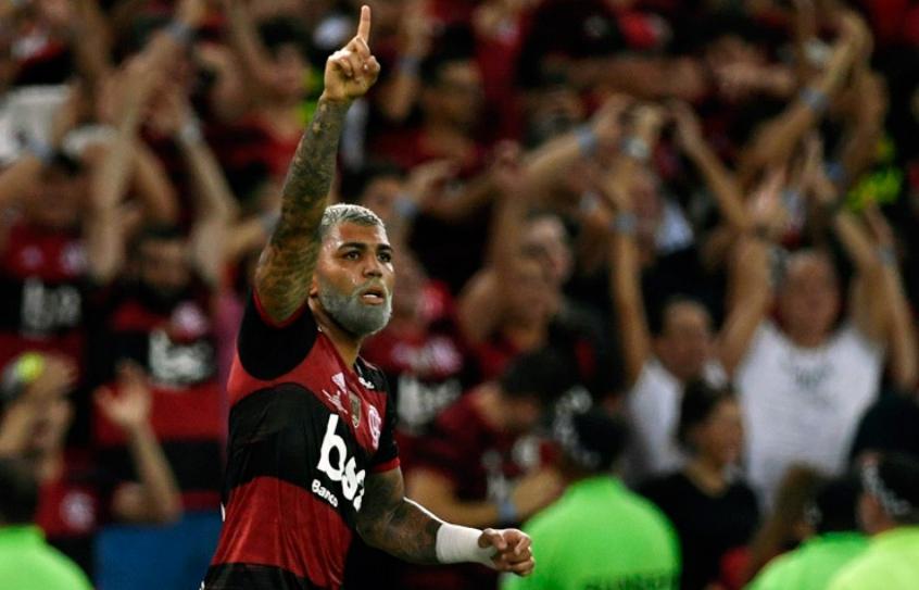 Flamengo X Independiente del Valle - Comemoração
