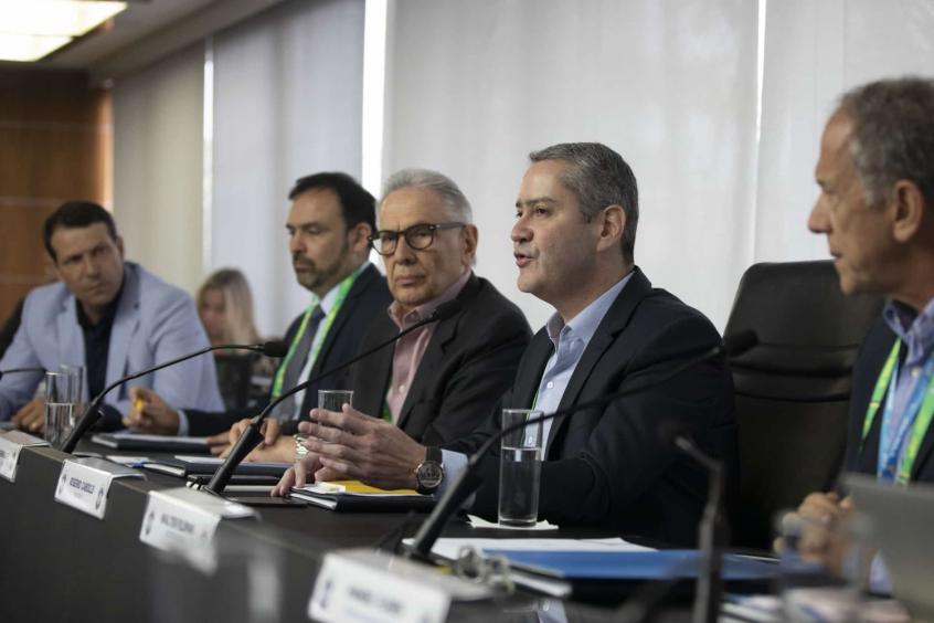 Reunião do conselho técnico da série A 2020