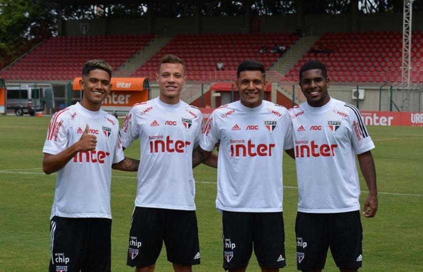 Maia, Sena, Galeano e Marcos Júnior