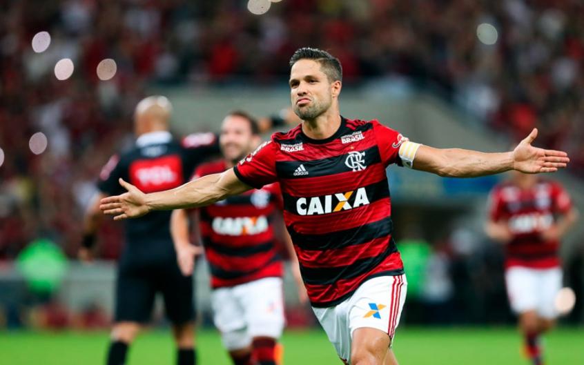 Diego - Flamengo x Paraná (10/6/18)