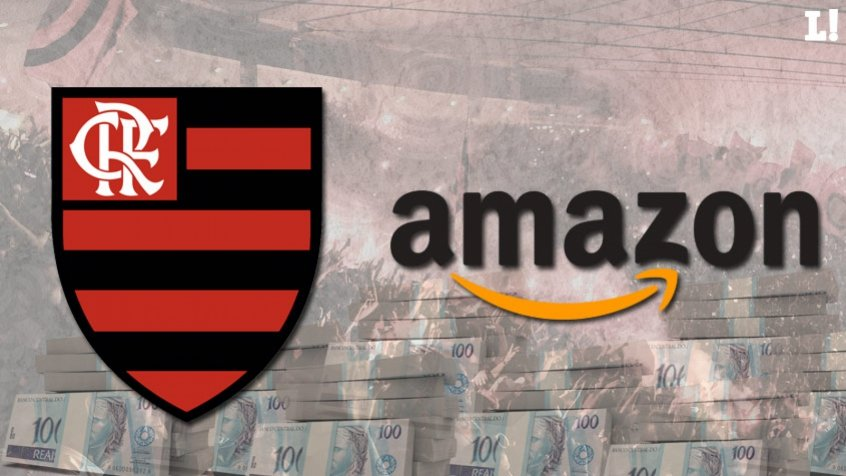 Arte - Flamengo e Amazon