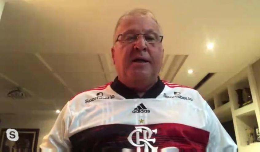 Zico comenta queda de rendimento do Flamengo e alerta: Não pode jogar com as vitórias do passado