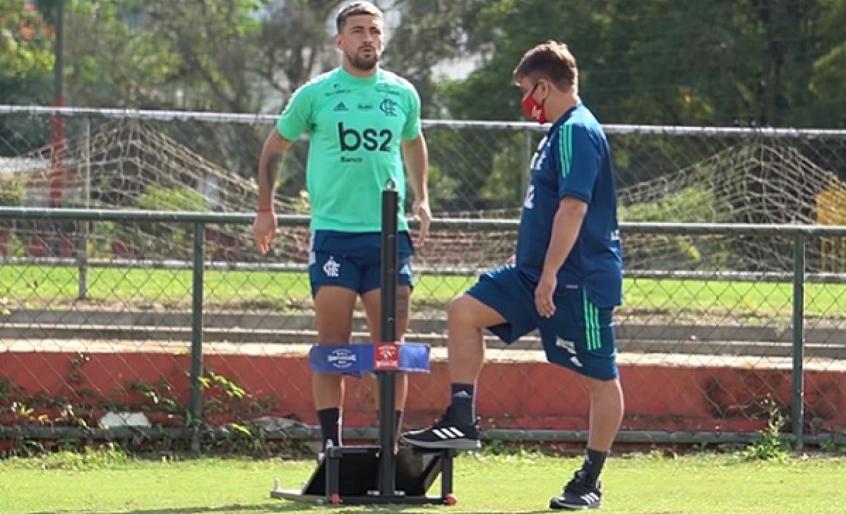 Flamengo vai para a segunda semana de treinamentos