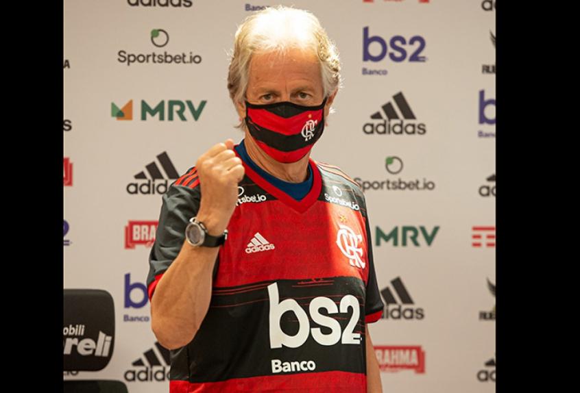 Jesus já é o terceiro técnico mais duradouro do Flamengo na década