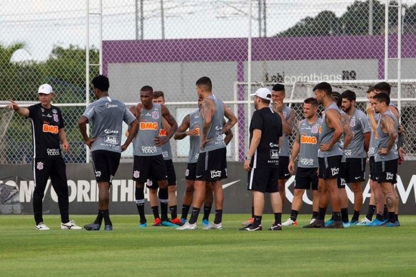 Treino Corinthians