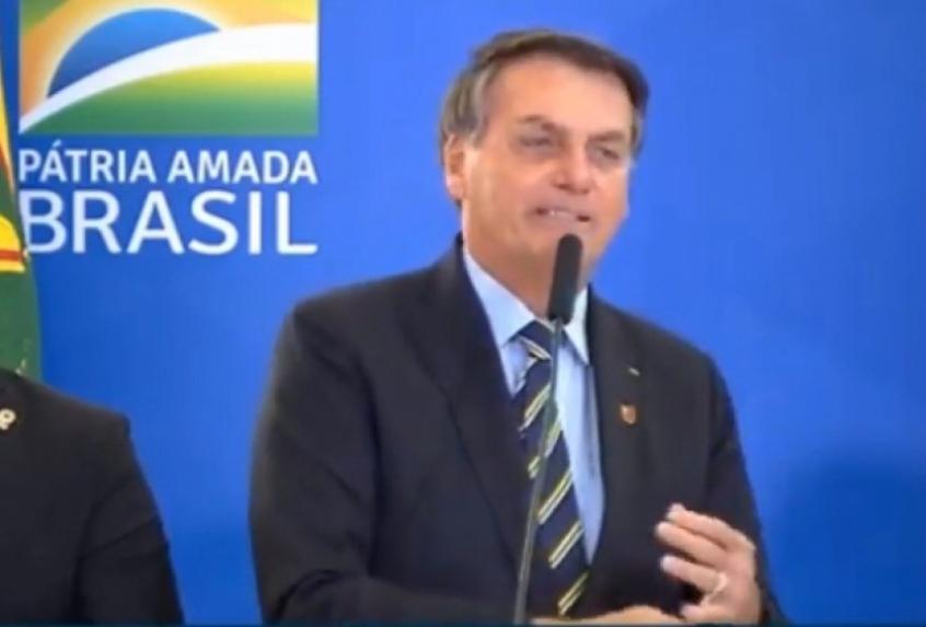 Com broche do Flamengo, Presidente da República diz que celebrará bi mundial do Palmeiras