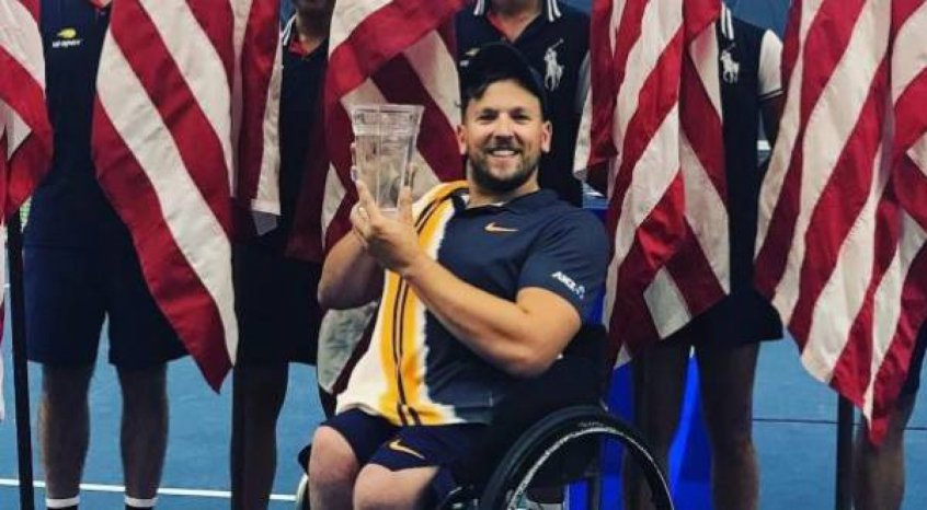 Dylan Alcott campeão do US Open 2018
