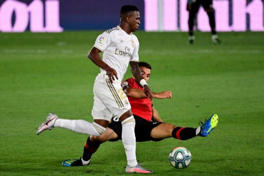 Vinicius Junior pelo Real Madrid