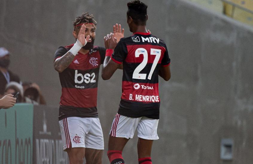 Dupla de avançados do Rubro-Negro  são responsáveis por quase 60 dos gols do Flamengo em 2020
