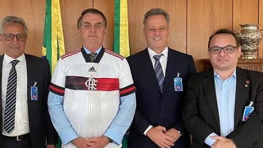 Rodrigo Dunshee se manifesta após encontro de Landim e Bolsonaro: Não significa apoio político