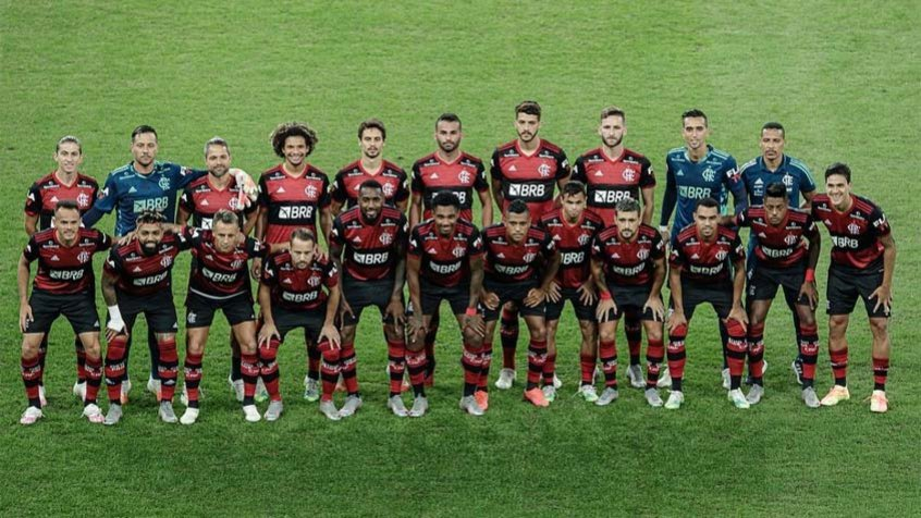 L�deres do Flamengo destacam uni�o do elenco ap�s rev�s na Ta�a Rio