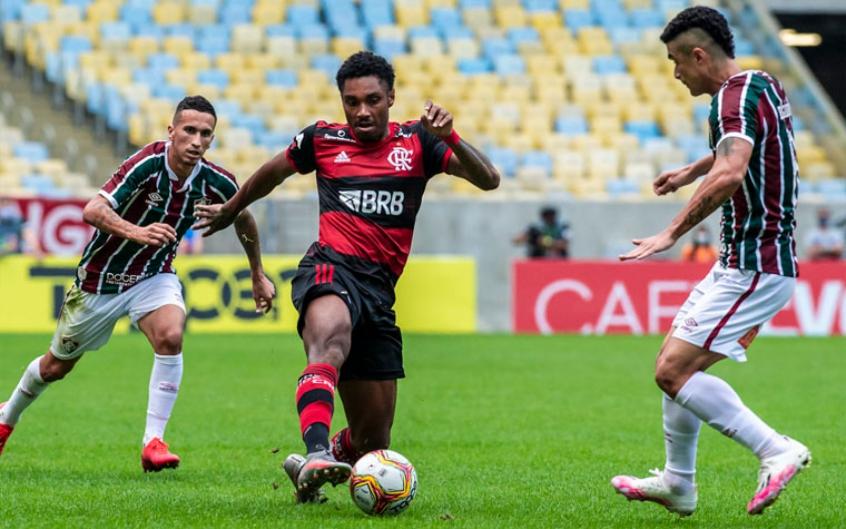 Vitinho - Fluminense x Flamengo