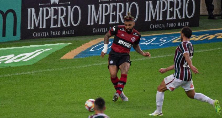 Fluminense x Flamengo - Gabigol
