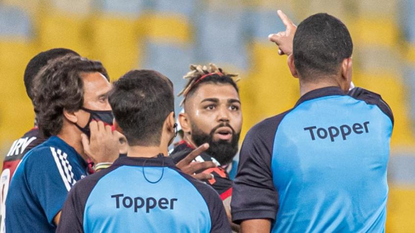 Flamengo não recorrerá pela expulsão de Gabigol