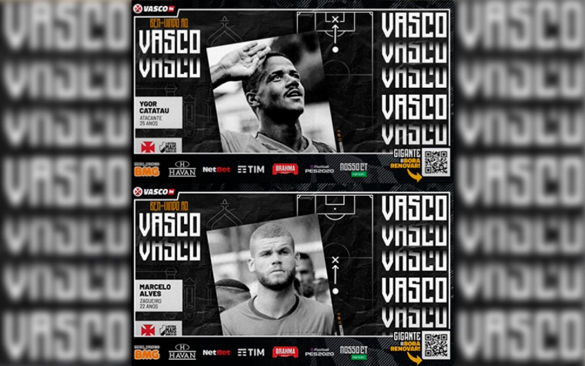 LIVE Vasco TV - Marcelo Alves e Ygor Catatau