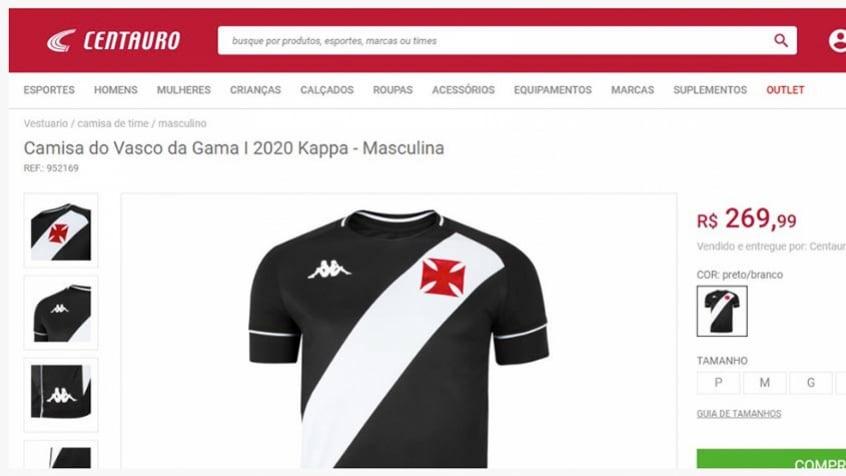 Camisa Vasco Kappa