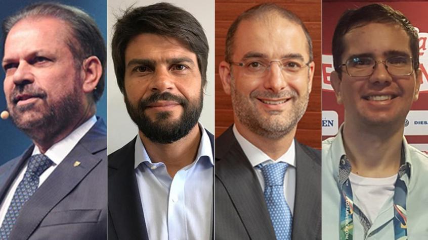 Montagem - Reinaldo Carneiro Bastos, Pedro Paulo, Pedro Trengrouse e Vinícius Faustini