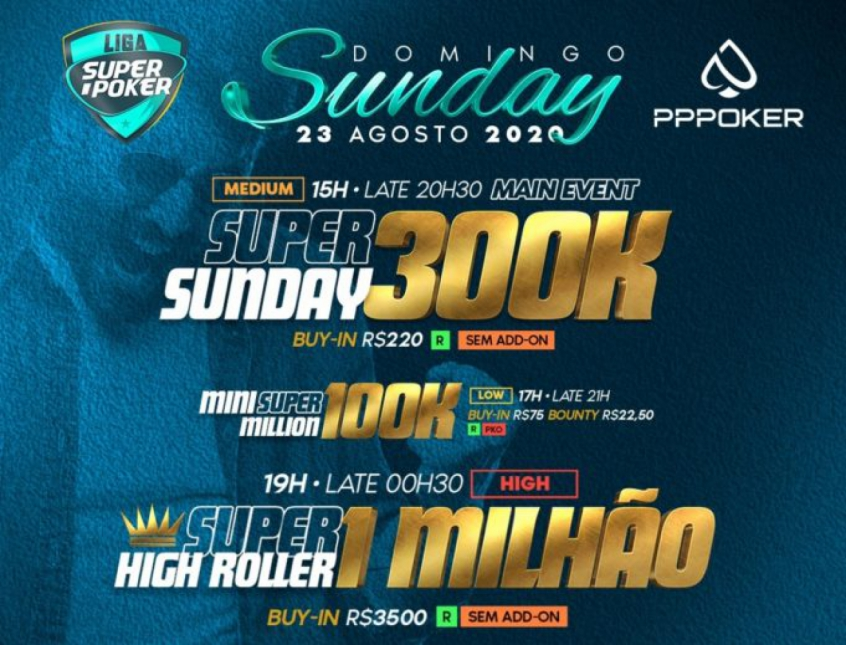 Liga SuperPoker Super Sunday
