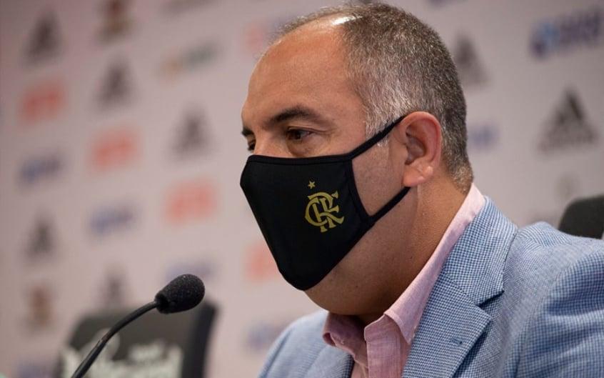 Marcos Braz alega que não vê problema em conciliar campanha com rotina no Flamengo