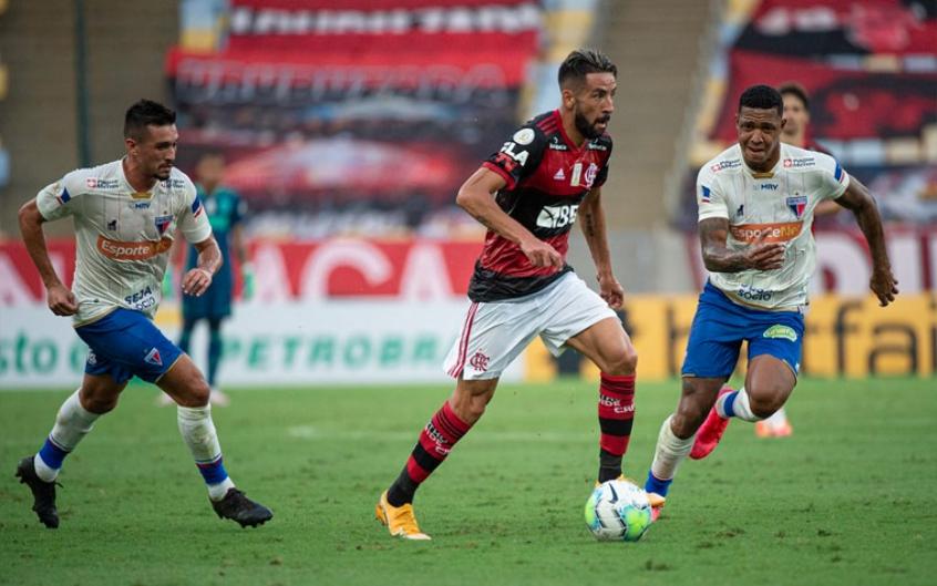 Maurício Isla - Flamengo x Fortaleza