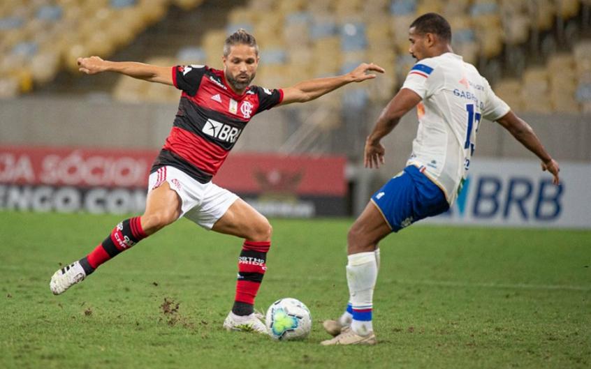 Diego Ribas - Flamengo x Fortaleza